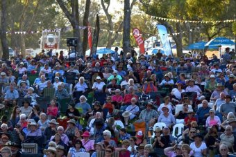 Music fans gather at Boyup Brook Country Music Festival