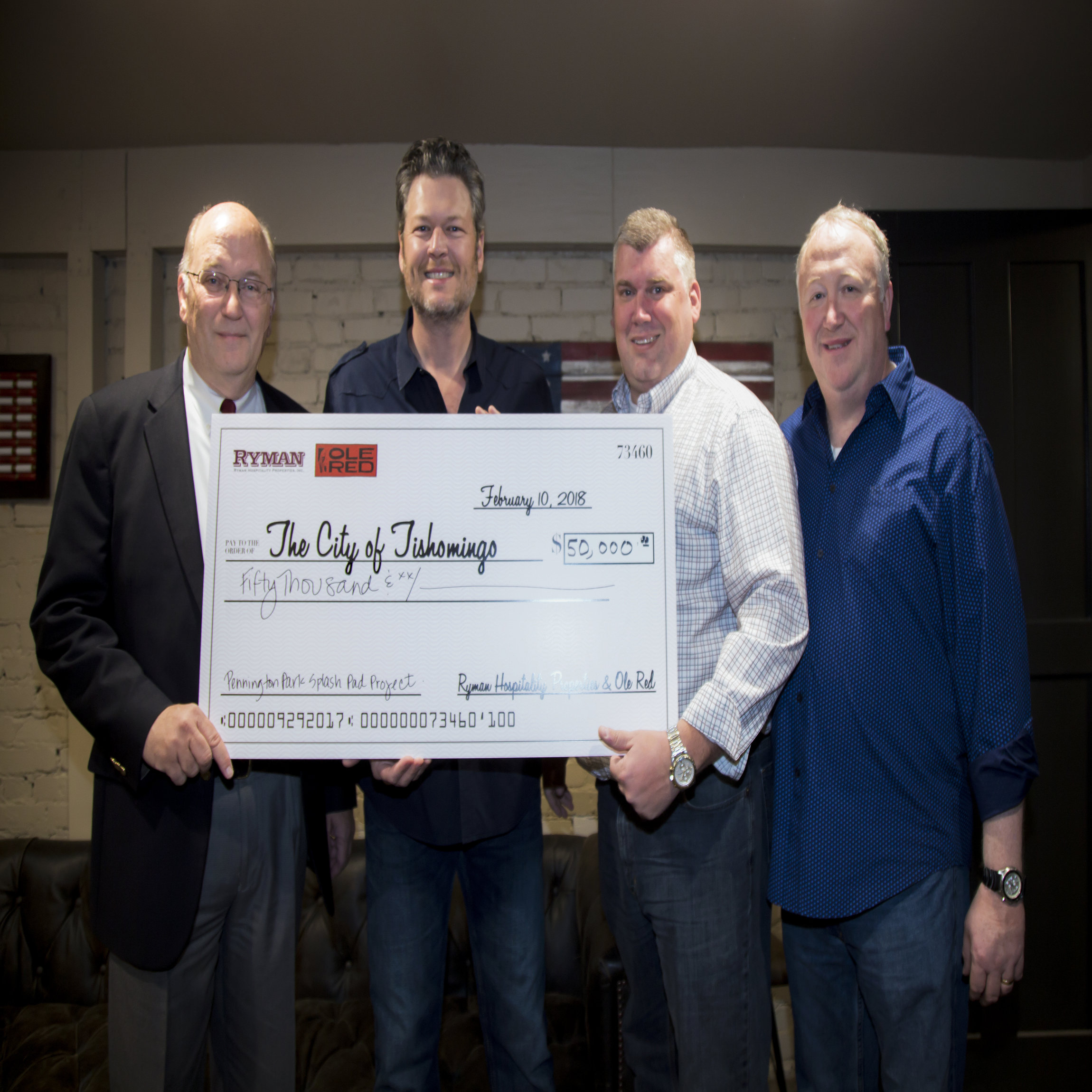 City of Tish Check Presentation
