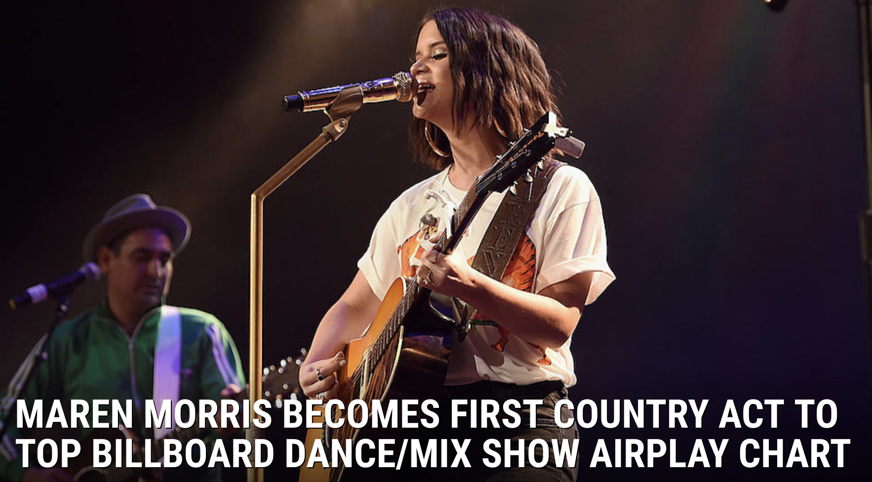 Maren Morris Becomes First Country Act To Top Billboard